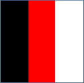 nero/rosso/bianco