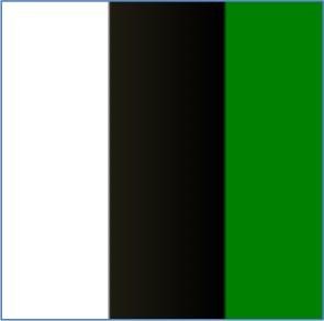 bianco/nero/verde